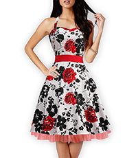 Fit and Flare Summer Dress – Showers of Roses