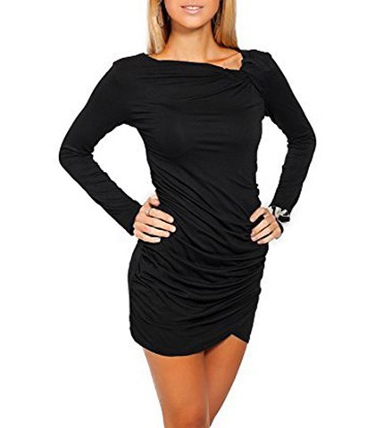 Lovely Little Black Dress – Falling to Just Above Mid Thigh
