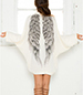 Angelic Wings Dress – Flowing Style / Angel Wing Print