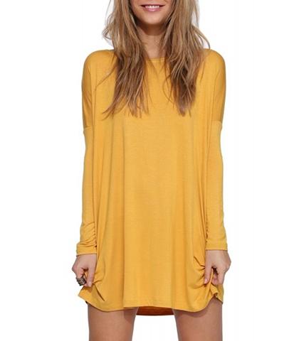 Amber color dresses